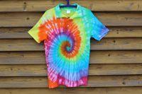 DUHOVÝ TENIS :) - tričko s límečkem, šířka 2x 48cm
