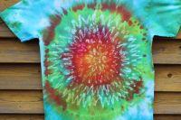 CIK A CAK :) tričko vosková batika, šířka 2x 54 cm