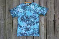 KAMUFLÁŽ 2 :) batikované tričko,unisex, šířka 2x 53 cm