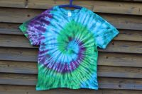 MAGICKÁ SPIRÁLA - batikované tričko šířka 2x 63 cm